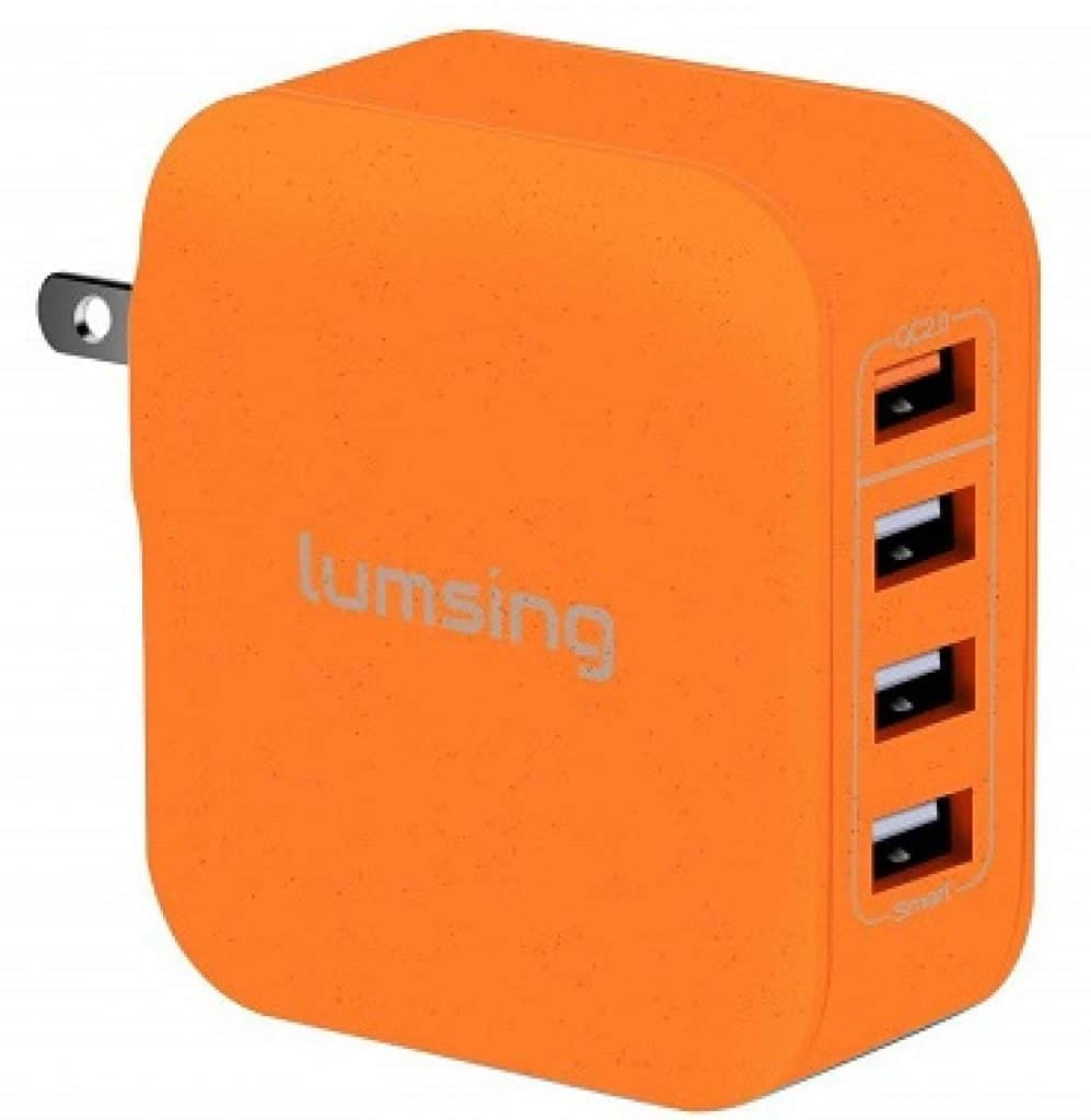 Lumsing Quick Charge 2.0 33W Multi-Port USB Wall Charger