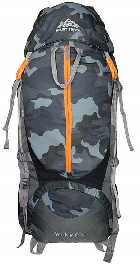MOUNT TRACK 9106 Nylon 80L Backpack with Rain Cover