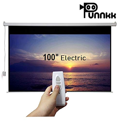 Punnkk E7 Motorized Projector Screen