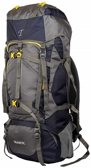 TRAWOC 60L Travel Backpack for Outdoor