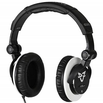 Ultrasone DJ1 DJ 1 S-Logic Plus Surround Sound Professional Closed-back DJ Headphones