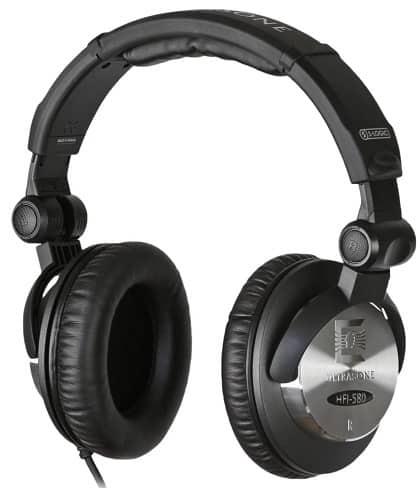 Ultrasonic HFI-580 S-Logic Surround Sound Professional closed back headphones