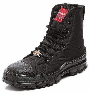 Unistar PU Anti-Skid High Ankle Extra Cushion Inner Sole Jungle Boots