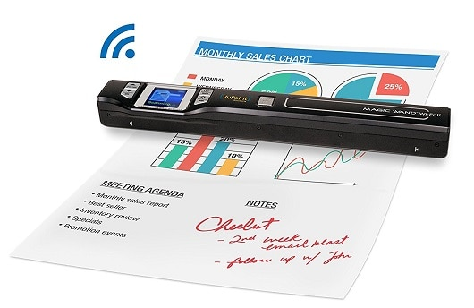VuPoint Magic Wand Wireless Portable Scanner