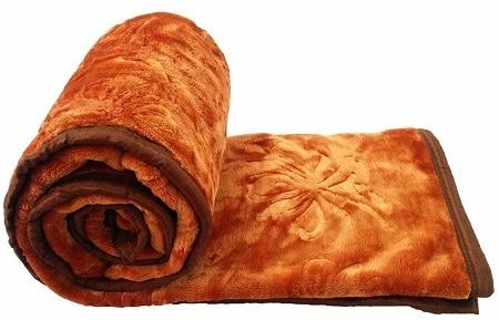 GOYAL'S Polyester Single Bed Mink Blanket