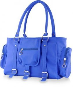Naaz Bags Collection Women's 3 Buckle Hand Bag