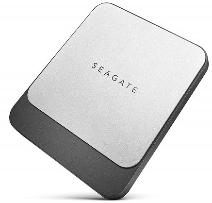 Seagate 250 GB Fast SSD USB C Portable External Hard Drive