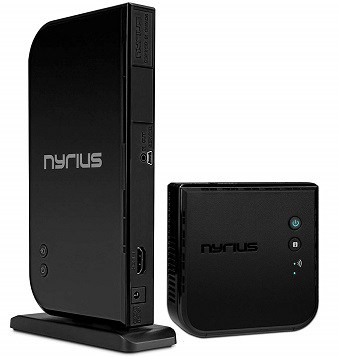 Nyrius ARIES Home HD 1080p HDMI Digital Wireless Audio Video Transmitter & Receiver System