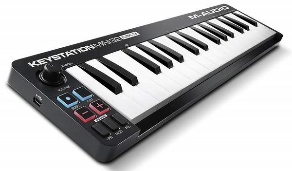 M-Audio Keystation Mini 32 MK3 Ultra-Portable USB MIDI Keyboard Controller