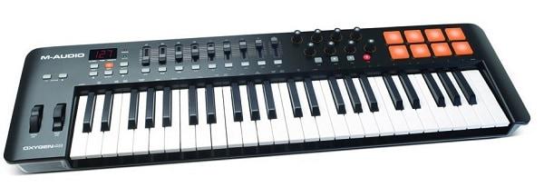 M-Audio Oxygen 49 USB Pad Keyboard MIDI Controller