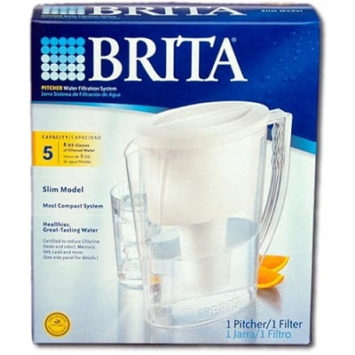 Brita Slim Water Filter Pitcher