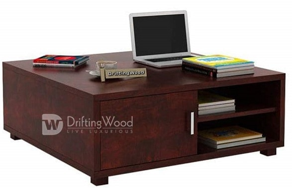 DriftingWood Sheesham Wood Andy Coffee Table for Living Room