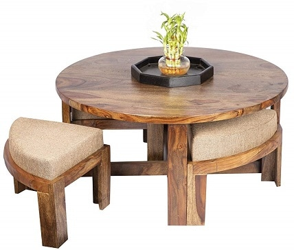 Ikiriya Solid Wood Coffee Table