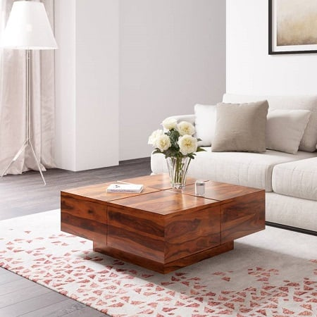 Perfect Homes PureWood Sheesham Coffee Table