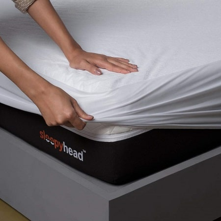 Sleepyhead Bamboo Terry Waterproof Mattress Protector