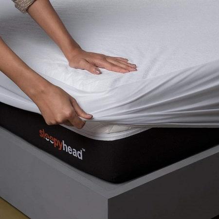 Sleepyhead Bamboo Terry Waterproof Mattress Protector