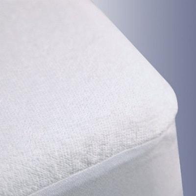 Trance Home Linen Cotton Waterproof and Dustproof Queen Size Mattress Protector
