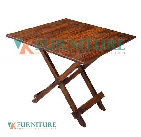 VK Furniture Sheesham Wood Foldable Patio