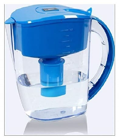 Well Blue Alkaline Water Pitcher