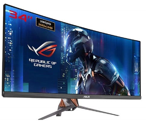 ASUS ROG Swift PG348Q 34-inch Curved Gaming Monitor