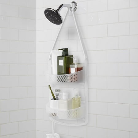 AmazonBasics Shower Caddy with Adjustable Arms