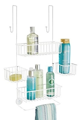 INDIAN DECOR 285600 Over Door Shower Caddy