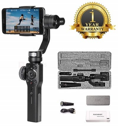 Premsons Smooth 4 Three-Axis Gimbal Smartphone Stabilizer Photo Video Recorder