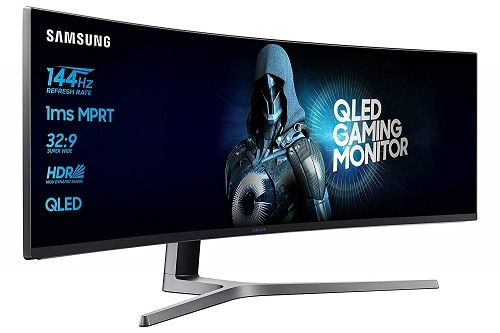 Samsung LC49HG90DMUXEN 48.9 inch Ultra Wide Curved Monitor