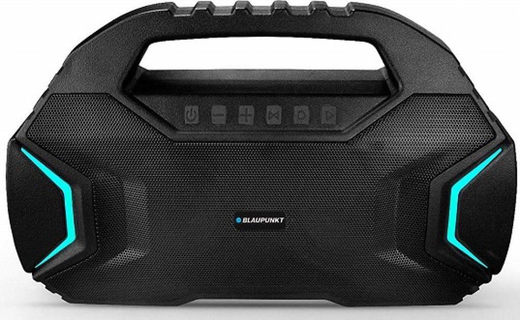 Blaupunkt BT400 Volcano 40 Portable Party Bluetooth Speaker with Wireless Karoke Mic