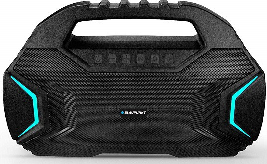 Blaupunkt BT400 Volcano 40 Portable Party Bluetooth Speaker with Wireless Karoke Mic