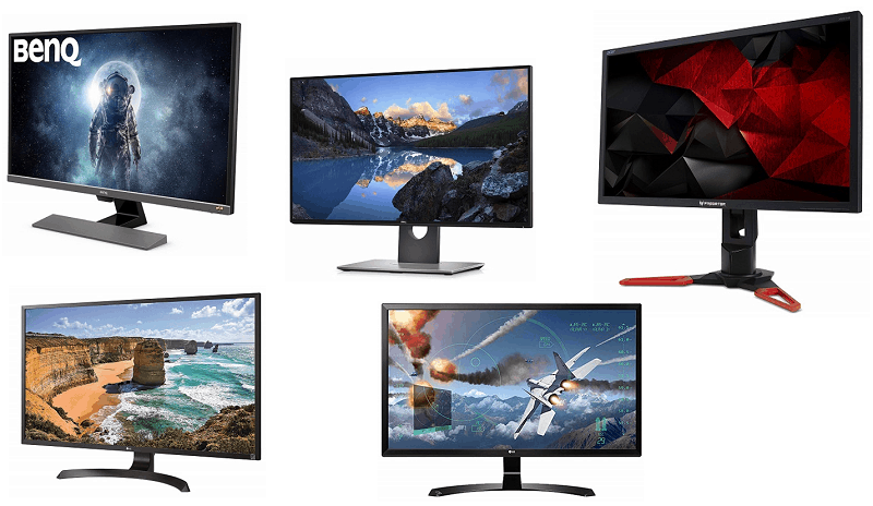 Top 10 Best 4K Monitors in India - Review | Shubz