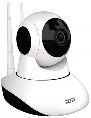 D3D D8810 1080P WiFi Home Security Camera 360 PTZ