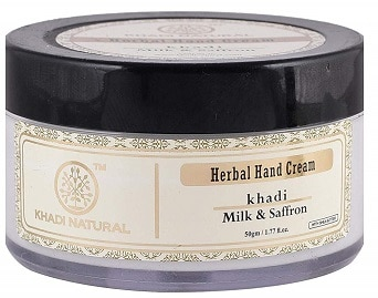 Khadi Natural Milk & Saffron Herbal Hand Cream