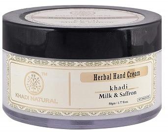 Khadi Natural Milk & Saffron Herbal Hand Cream