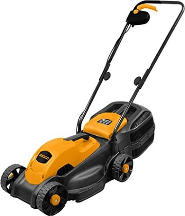 ToolsCentre TC-LM385 1600W Powerful Electric Lawn Mower with Grass Catcher