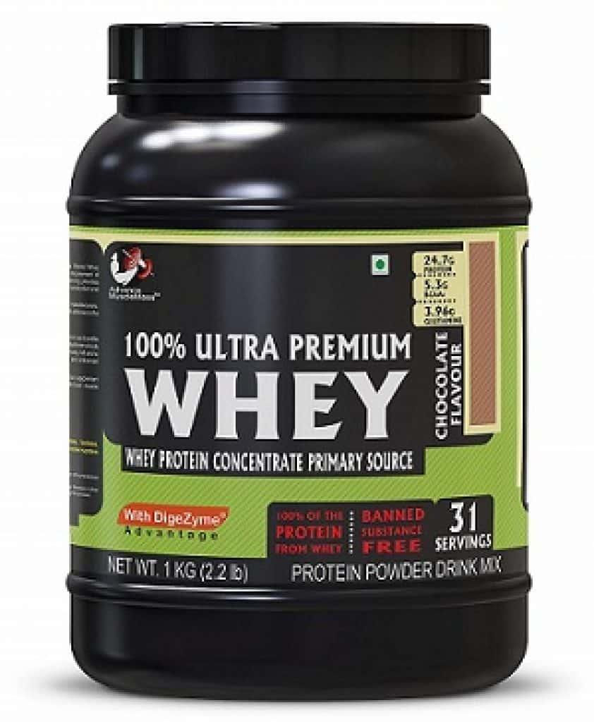 Advance MuscleMass Whey Protein Supplement Powder