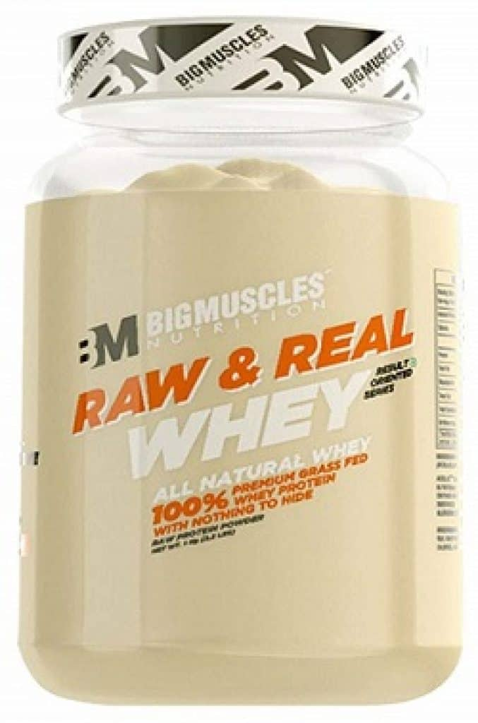 Bigmuscles Nutrition Raw & Real Whey Protein 2.2 lbs
