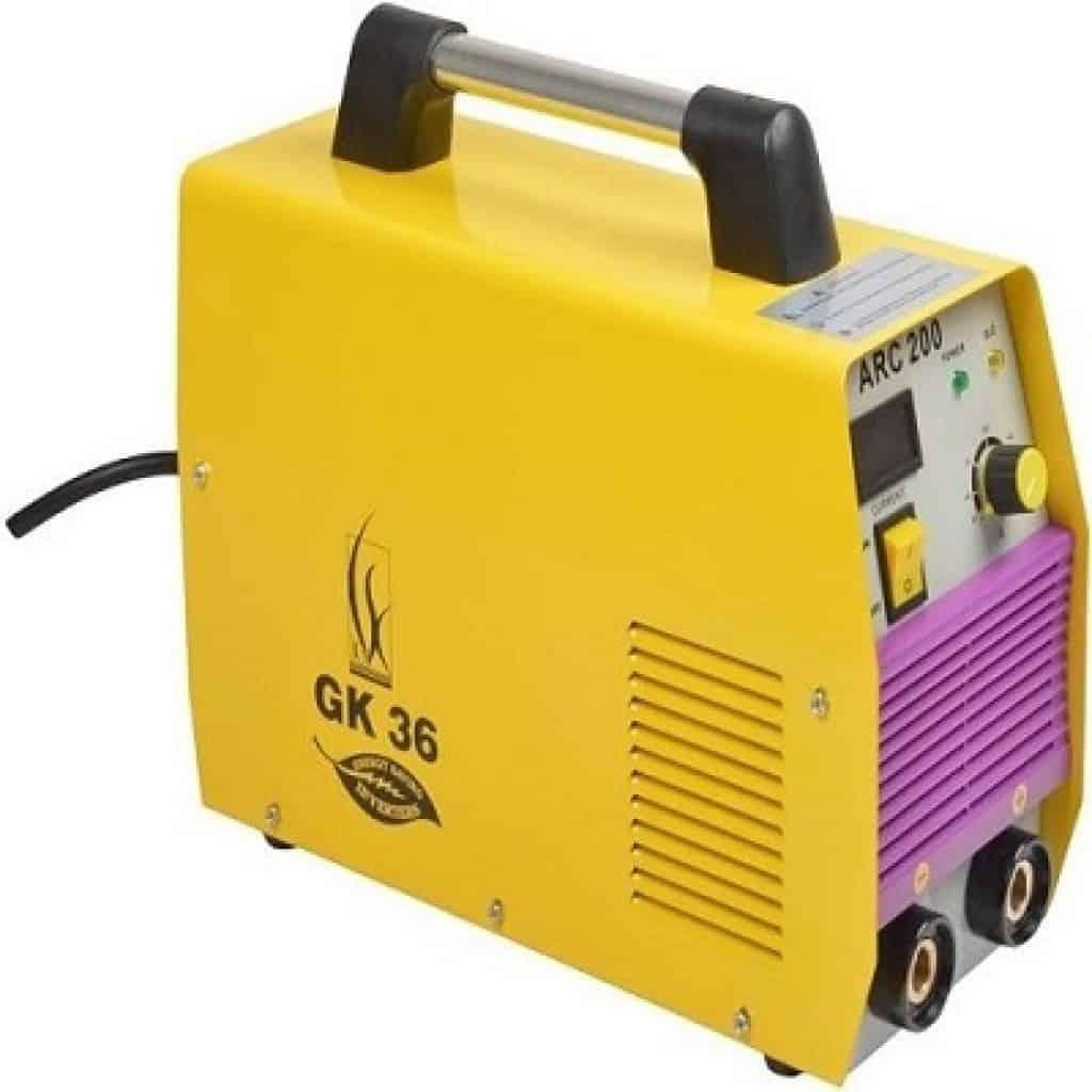 GK36 ARC200 Welding Machine with Standard Accessories