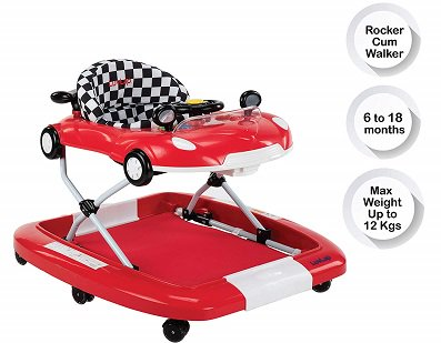 Luvlap Sports Car Walker Cum Rocker