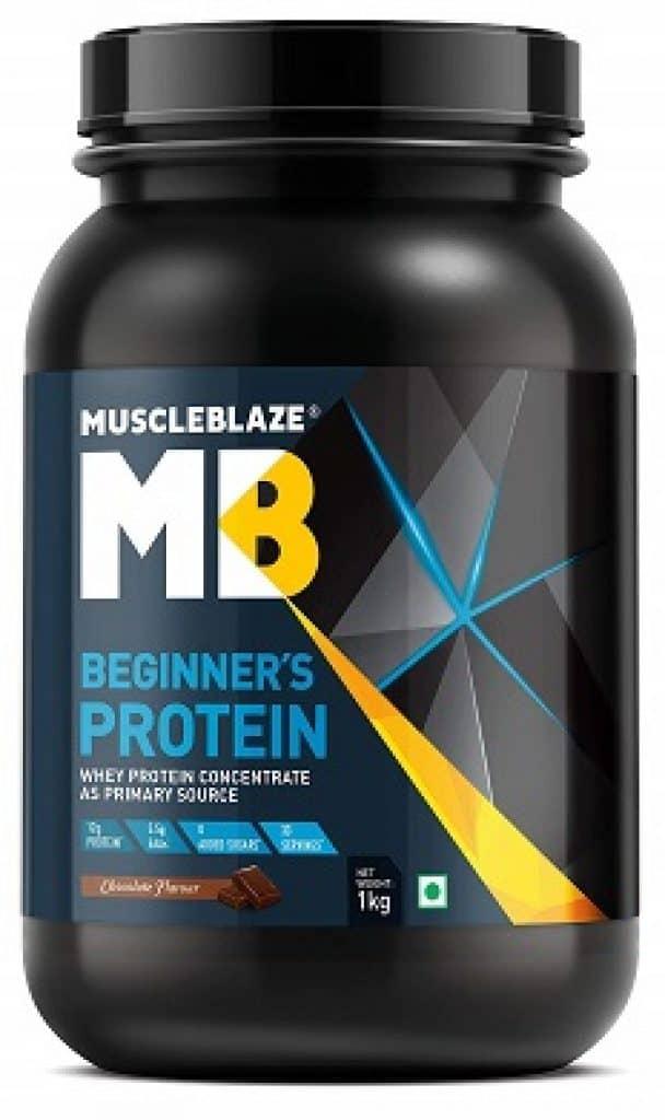 MuscleBlaze Beginner's Whey Protein Supplement