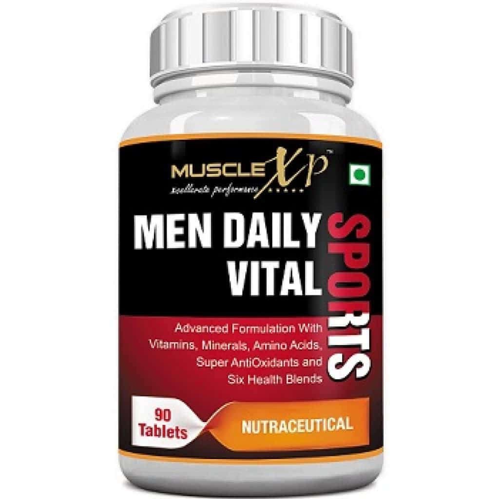 MuscleXP MultiVitamin Men Daily Sports with 47 Nutrients