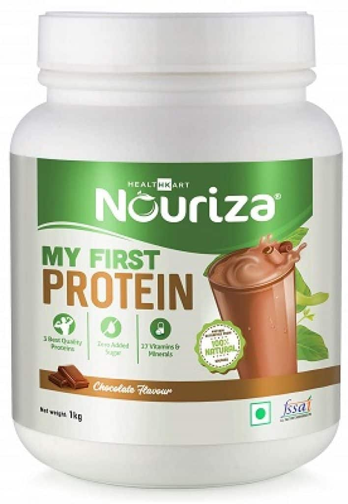Nouriza My First Protein, Beginners Protein With Whey & Casein
