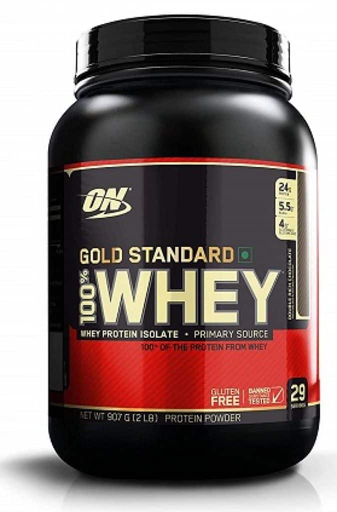 Optimum Nutrition (ON) Gold Standard 100% Whey Protein Powder