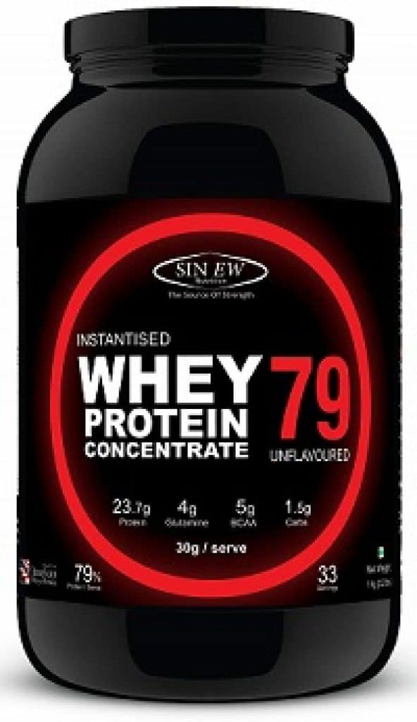 Sinew Nutrition Instantised Whey Protein Concentrate 79%