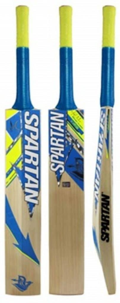 Spartan MS Dhoni Run CB-154 Kashmir Willow Bat
