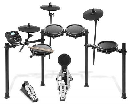 Alesis Nitro 8-Piece All-Mesh Electronic Drum Kit