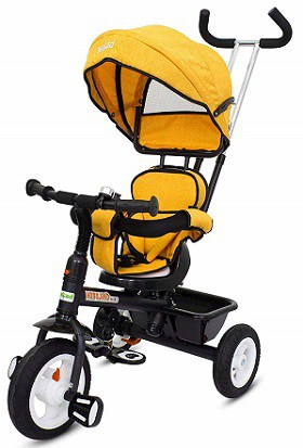 Baybee Mario Sportz - The Stylish Plug and Play Baby Tricycle