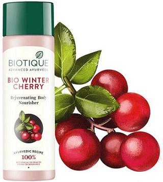 Biotique Bio Wintercherry Lightening And Rejuvenating Body Nourisher