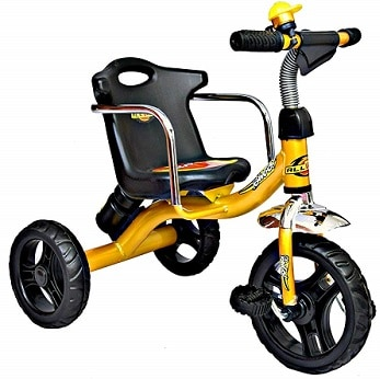 CHILDSTAR WITH DEVICE Tricycle with Storage Basket