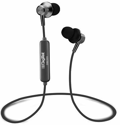 Digitek DBE005 Wireless Bluetooth Surround Sound Earphone with Calling Microphone